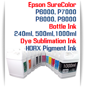 Epson SureColor P6000, P7000, P8000, P9000 printer Bottle Ink