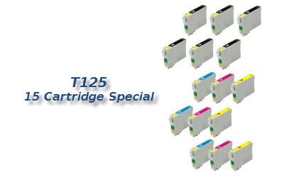 T125 15 cartridge deal
