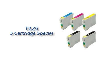 T125 5 cartridge deal