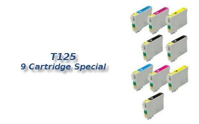 T125 9 cartridge deal