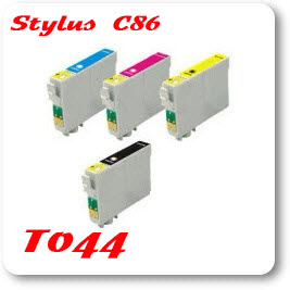 Epson Stylus C86 T044 Epson Compatible Ink Cartridges, Free Shipping over $ 35