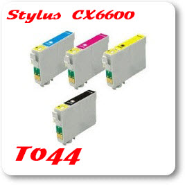 Epson Stylus CX6600 T044 Epson Compatible Ink Cartridges