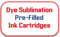 Dye Sublimation pre-filled ink cartridges