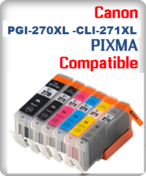 Canon PIXMA PGI-270XL, CLI-271XL Ink Cartridges