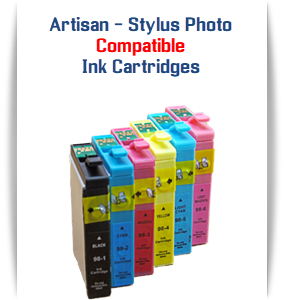 EPSON Artisan 1430 - Stylus Photo 1400 Printer Compatible Ink Cartridges
