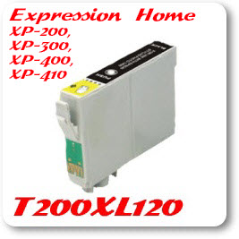 T200XL120 Black Epson Compatible Ink Cartridge