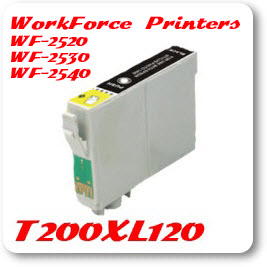 T200XL120 Black WorkForce WF Compatible Ink Cartridge