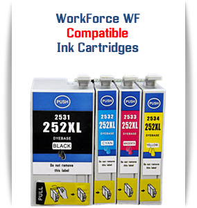 T252XL EPSON WorkForce compatible ink cartridges